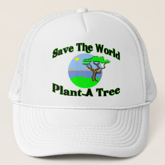 Save The World Plant A Tree Trucker Hat