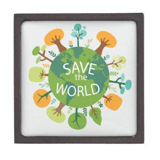 SAVE THE WORLD PREMIUM TRINKET BOX