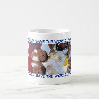 SAVE THE WORLD..SAVE THE WORLD..SAV... COFFEE MUG