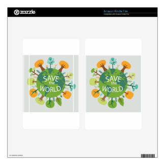 SAVE THE WORLD SKINS FOR KINDLE FIRE