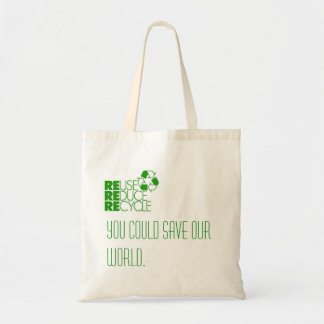 Save the World! Tote