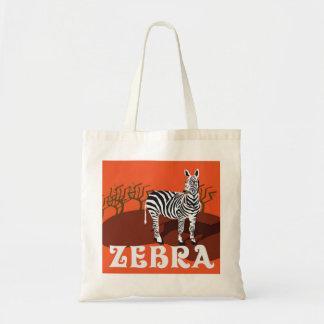 Save the Zebra Tote Bag