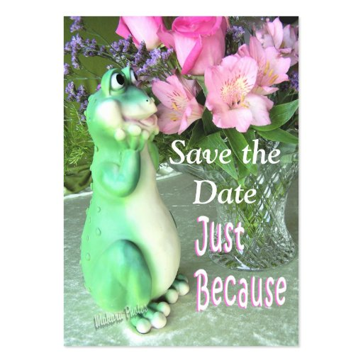 Save theDate Party Business Cards