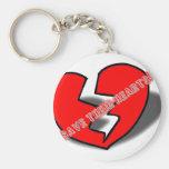 Save Their Hearts keychain