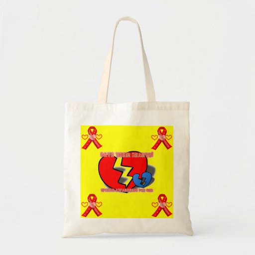 Save Their Hearts Tote Bag
