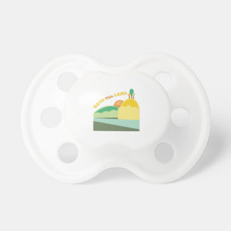 Save This Land BooginHead Pacifier