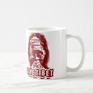 SAVE TIBET~! FREE TIBET! COFFEE MUG