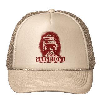 SAVE TIBET~! FREE TIBET! TRUCKER HAT