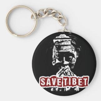 SAVE TIBET~! FREE TIBET! KEYCHAIN