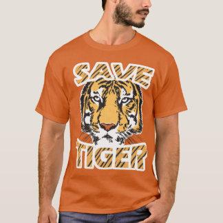 Save Tiger Men's Basic Dark T-Shirt