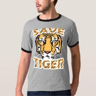 Save Tiger Men's Basic Ringer T-Shirt