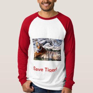 Save Tiger! T-shirts