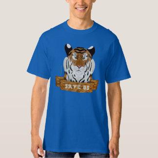 Save Tigers Men's Tall T-Shirt