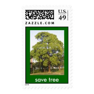 save tree postage