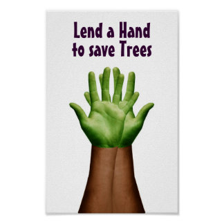 Save Trees Posters