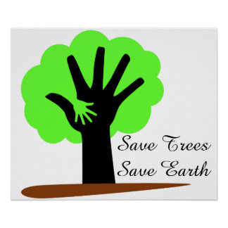 Poster presentation on save our mother earth