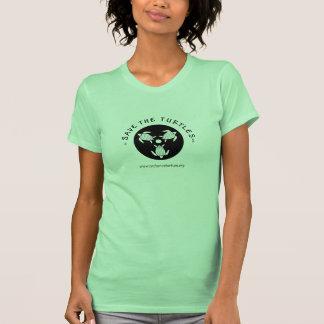 Save Turtles Logo T Shirt