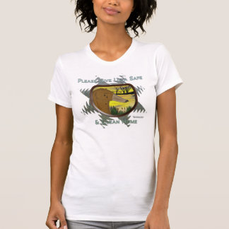 Save Us From Oil Ladies Petite Shirt