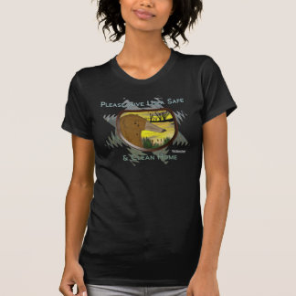 Save Us From Oil Ladies Twofer Shirt