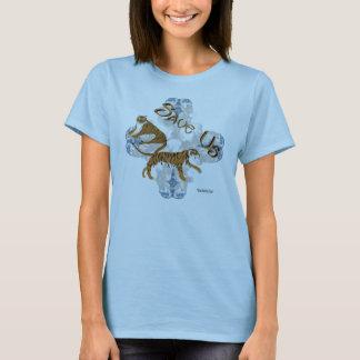 Save Us Tigers Ladies Babydoll Shirt