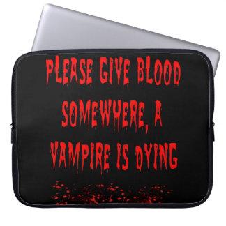 Save Vamps Laptop Sleeve