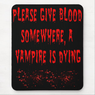 Save Vamps Mouse Pad