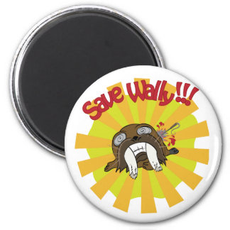Save Wally Magnets