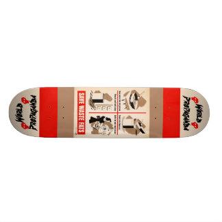 Save waste fats Skateboard