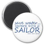 Save Water... 2 Inch Round Magnet