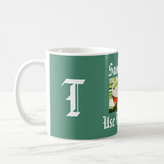Save Water Alphabet Letter T Mug