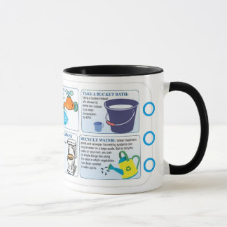 Save Water Alphabet Mug O