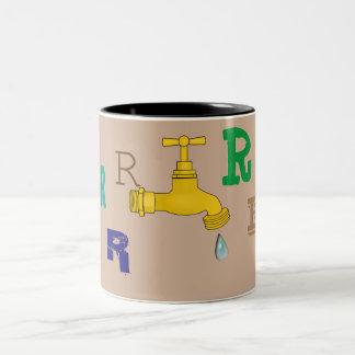 Save Water Alphabet Mug R