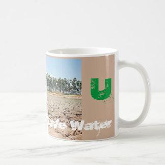 Save Water Alphabet Mug U