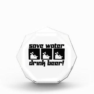 Save Water Drink Beer! Acrylic Award