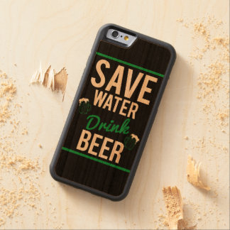 Save water Drink beer Carved Cherry iPhone 6 Bumper Case