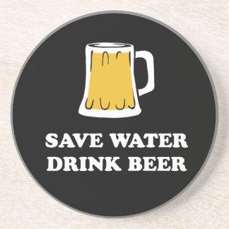 Save water. Drink beer. Coaster
