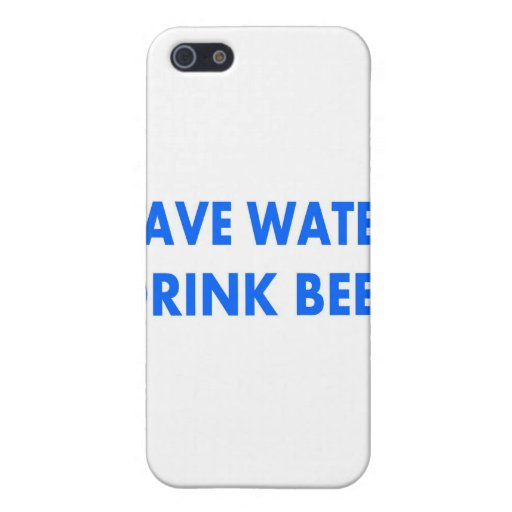 Save Water-Drink Beer Covers For iPhone 5