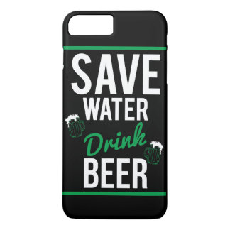 Save water Drink beer iPhone 8 Plus/7 Plus Case