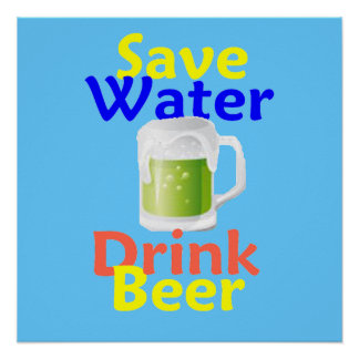Save Water Posters | Zazzle