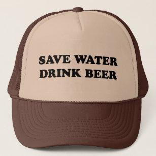f2e10718310 Save Water Drink Baseball & Trucker Hats | Zazzle