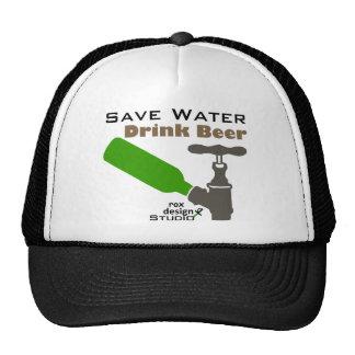 Save Water Drink Beer Trucker Hat