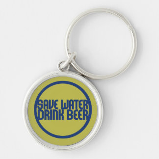 Save water drink deer keychain