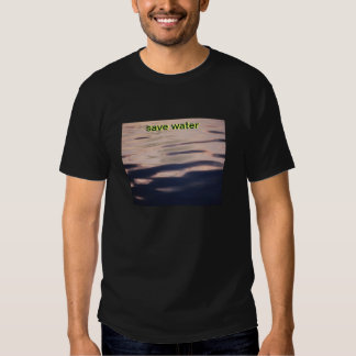 save water drink more beer shirt