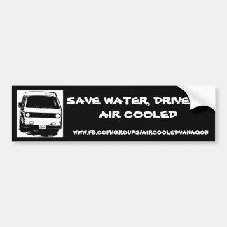 Save Water, Drive an Air Cooled Bumper Sticker