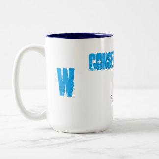Save Water Letter W Mug