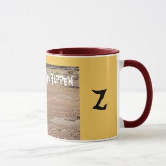Save Water Letter Z Mug