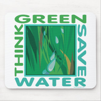 Save Water Mousepad