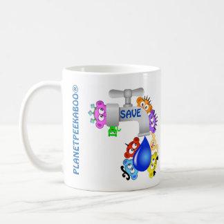 Save ~Water @PlanetPeekABoo® Coffee Mug