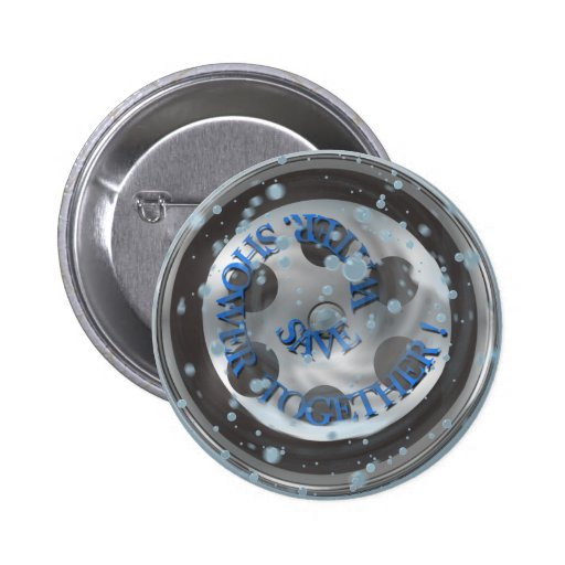 Save Water Shower Together Button