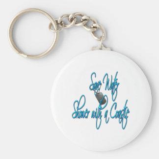 Save Water Shower With A Coastie Basic Round Button Keychain